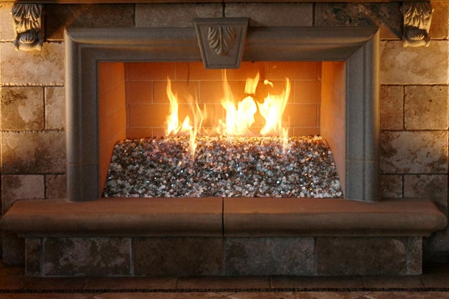 Fireplace With Rocks Wholesale Fireplace Glass Fireplace Glass Rocks  Firepits .