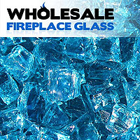 Fireplace Glass Crystals