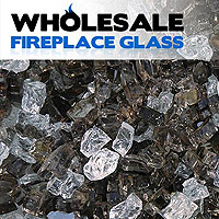 Premixed Fireplace Glass Crystals