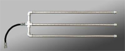 "48"" Triple Burner w/ Flex Connect - 1/2"" Stainless Steel - (15 inch wide)"