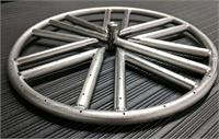 18 Inch Diamond Ring Stainless Steel Round Fire Pit Ring